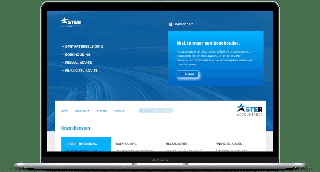 Ster Accountancy desktop