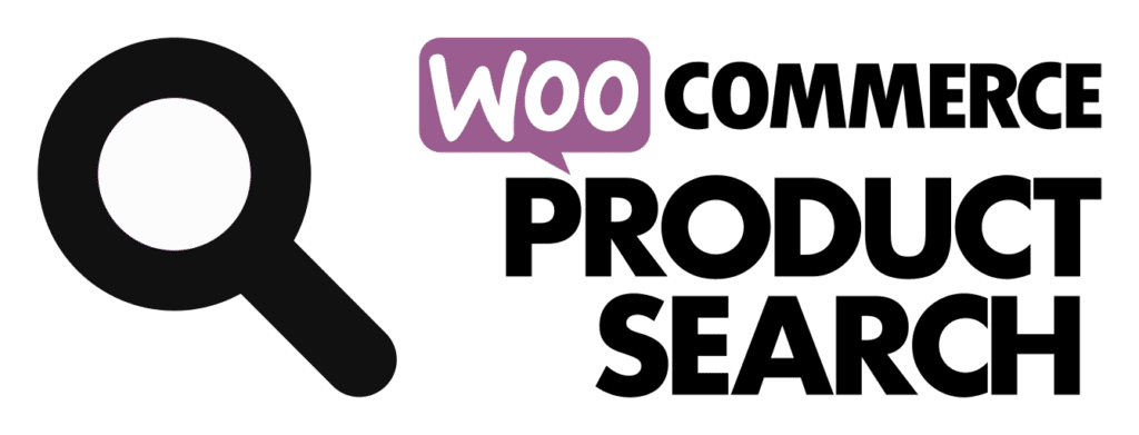 WooCommerce product search logo