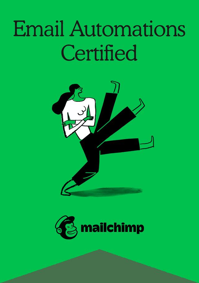 certificaat Mailchimp